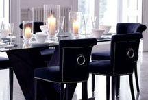 Dining room / Jídelna / Židle, jídelní stoly, osvětlení, doplňky
