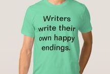 The Pen is mightier than the Sword / My calling, my pleasure (innocent and guilty), quotes that I identify with as a writer. I also really want these t-shirts