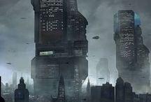 Futuristic cities / Random futuristic cities