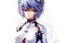 Rei Ayanami Evangelion / Random Rei Ayanami illustrations