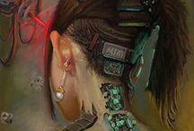 Cyberpunk / Random cyberpunk characters