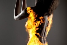 Burnin up for ur love / by Amanda J. Azzarone