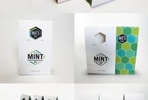 Packaging, print, logos