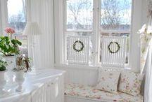 Hus interiør hage