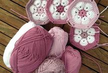 crochet, felt, knit and embroidery / My hands need to be busy.