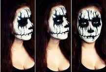 my face painting / because art is the best way to say FUCK YOU to reality! <3