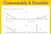 Math STEM Resources / Printable and customizable math worksheets and flashcards for students and educators.