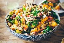 ♥ Vegan Salads and Sides ♥ / Delightful vegetable salads and side dishes