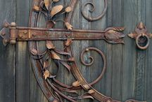 Wrought iron / Wrought iron always has been very special.