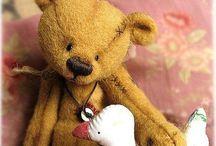 Teddy bears / I got lots of teddies sitting around:)