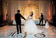 DANCE FLOOR COVER by RAINING ROSES PRODUCTIONS INC. / Best Selection of vynil dance floor covers: color and graphics!