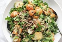 {anything but boring} Salads