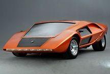 flying wedges / automotive design based on a wide flat wedge shape