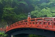 bridges of wood / wooden bridges from primitive to palatial