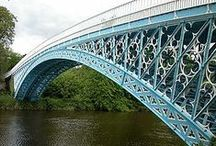 steel spans / iron bridges from the Industrial Revolution to the 20th century