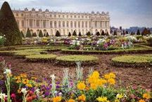 A Tour of Chateau de Versailles / My husband and I went to France and were mesmerized by Versailles. Mary Antoinette died tragically at such a young age. If you can go visit France and Versailles.....its beauty will stay with you a lifetime. / by Louise Glass