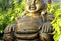 Estatuas de Budas y placas Feng Shui / Únicas y originales esculturas de Buda ideales para ponerlas en cualquier lugar de la casa, en el jardín o incluso en la entrada se verán espectaculares. Hechas en Indonesia y enviados directamente para nosotros.