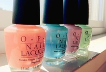 Nail Lacquer / by Ilse Hess