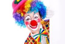 Party CLOWN Hire / Big Time Entertainment have a big selection of clowns available around the United Kingdom.  Our Clowns make great entertainment for Children's Parties, Kids Entertainment at Weddings, Corporate Entertainers etc www.bigtimeentertainment.co.uk / by Big Time Entertainment Ltd UK