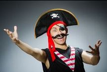 Pirate Entertainer Hire / Big Time Entertainment have some Pirate Entertainers available.  CALL US ON 020 7127 9119 / by Big Time Entertainment Ltd UK