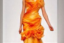 Dress Inspiration: Orange