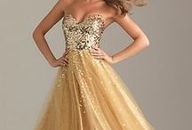Dress Inspiration: Gold