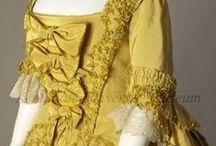 Dresses: 1760s