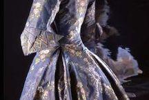 Dresses: 1770s