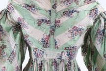 Dresses: 1830s