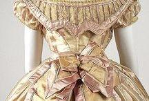 Dresses: 1860s