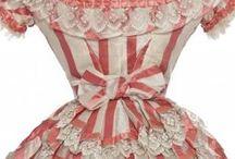 Dresses: 1870s