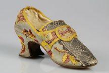 Accessories: 1760s / Hats, Gloves, Parasols, Purses & Shoes