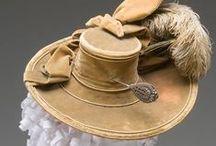 Accessories: 1770s / Hats, Gloves, Parasols, Purses & Shoes