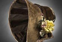 Accessories: 1840s / Hats, Gloves, Parasols, Purses & Shoes
