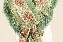 Accessories: 1850s / Hats, Gloves, Parasols, Purses & Shoes