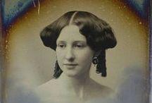 Art: Crinoline 1840s - 1860s / Paintings & Fashion Plates