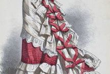 Art: Late Victorian 1870s - 1890s / Paintings & Fashion Plates