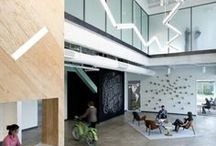 office interiors / inspiring office interiors