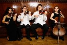 String Quartets for Hire / Big Time Entertainment have a vast selection of 4 piece String Quartets available for hire at various events  Call us on (020) 7127 9119 / by Big Time Entertainment Ltd UK