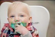 Cake Smash / Chandi Kesler Photography http://www.chandikeslerphotography.com   Located in Bloomington Illinois