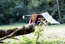 campings  / leuke kleine groen en natuurcampings