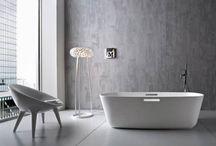 BATHROOM INSPIRATION / Inspiratie voor de badkamer.  www.artdesignwonen.nl