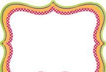 Bordes Decorativos / Bordes decorativos de hojas ;)