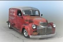 Trucks / Old and Hotrod trucks / by David Beach