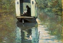 Impressionist Art / Works from the great Impressionist artists