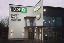 House2 - myymälä, Seinäjoki / Kuvia House2 myymälästä Seinäjoen Kauppaneliössä