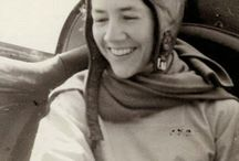 Anne Morrow Lindbergh / Vision board for new project