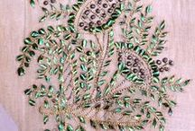 Beetle Wing Embroidery