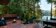Silver Lake and the Cabins Nearby / Mt. Baker Lodging offers 5 cabins near Silver Lake Park.