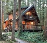 Glacier Springs Cabins / Enjoy the meandering trails located at the back of the Glacier Springs Community.  Wander through the Old Growth Forest, catch a view of Mt. Baker, have a picnic by the Nooksack River... all a short walk from your private cabin!
